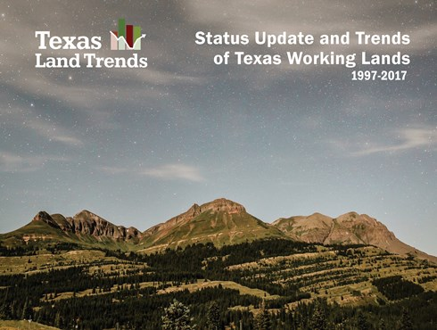 Status Update and Trends of Texas Working Lands report